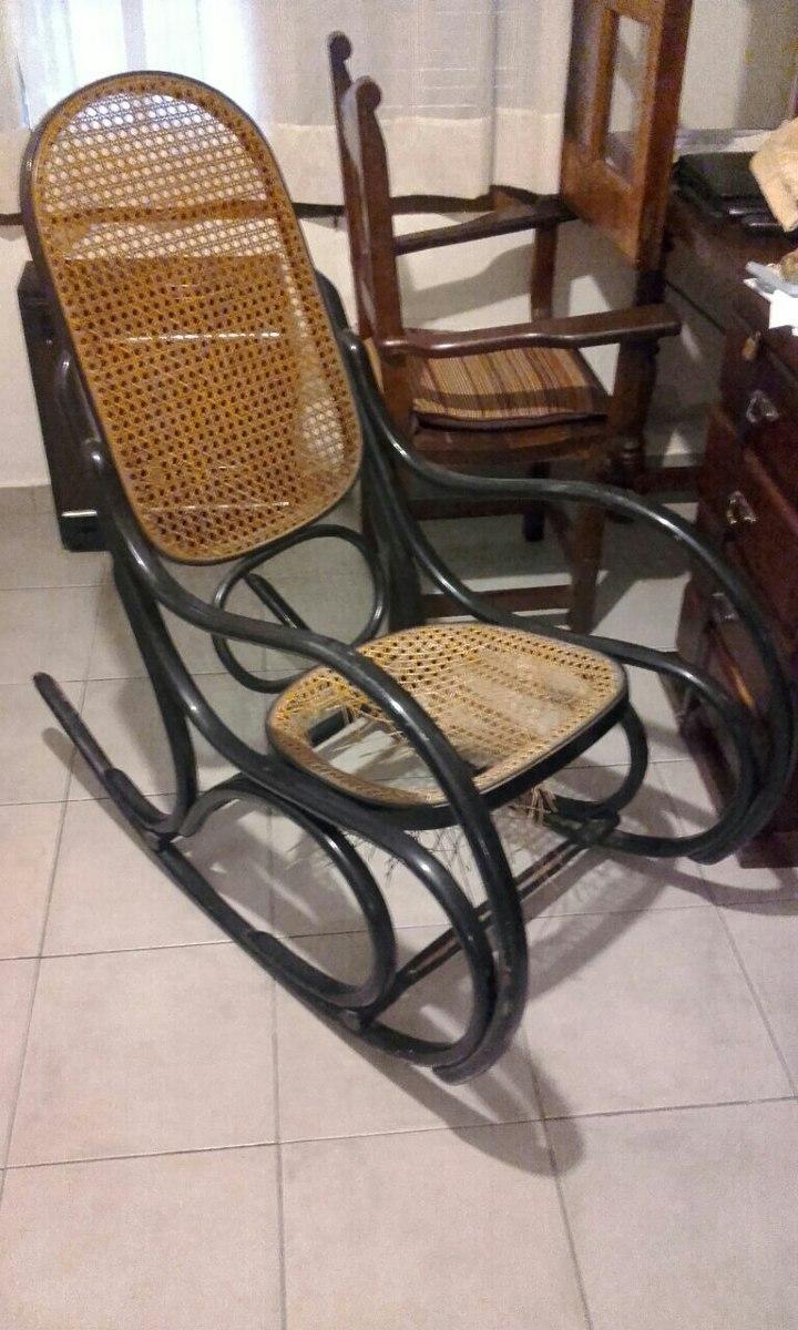 7f52a7896 Sillon Tonet Silla Mecedora Antigua Usada - $ 3.200,00 en Mercado Libre