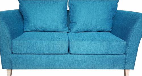 sillón trento plus2 chenille pana 2 almohadones placa soft