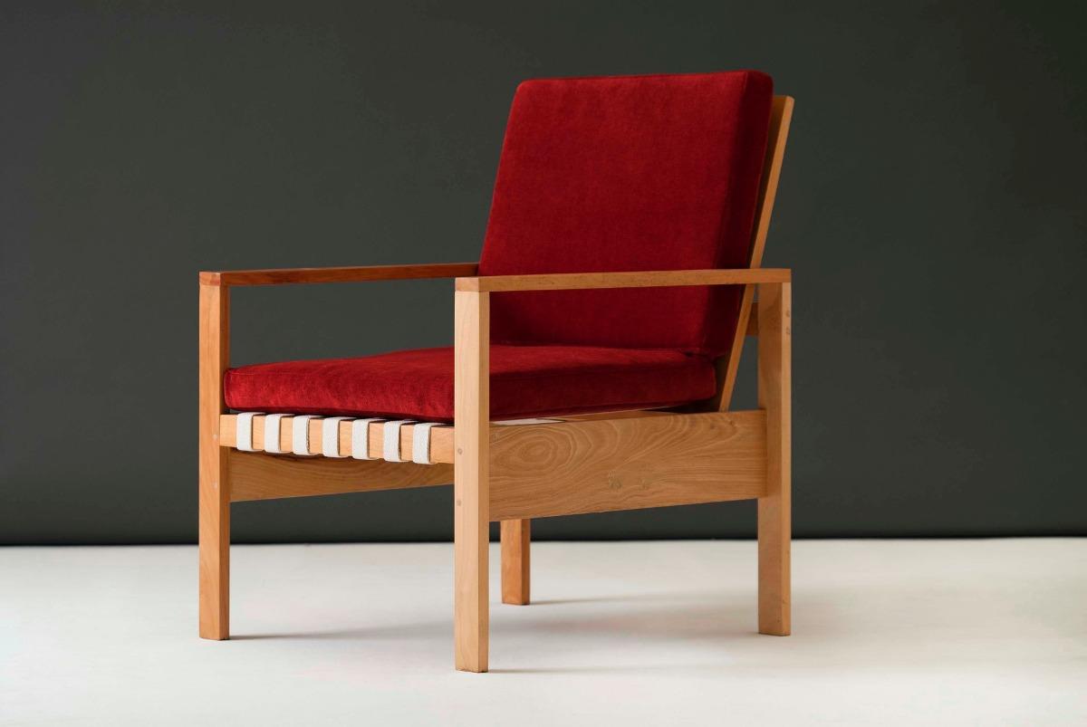 Sillones de diseo moderno cheap negro silln muebles silla for Sillones de madera modernos