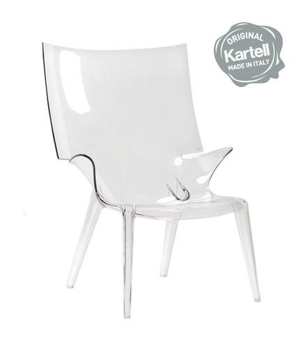sillón uncle jim - kartell | entrega inmediata