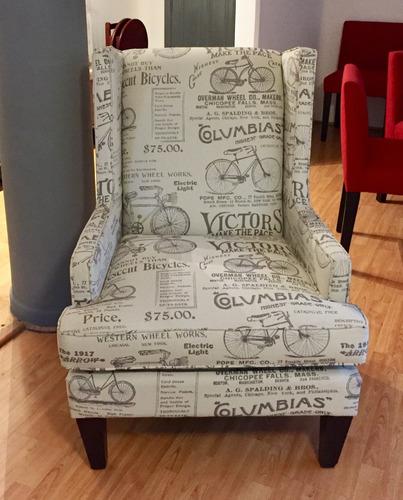 sillón usado en estampado