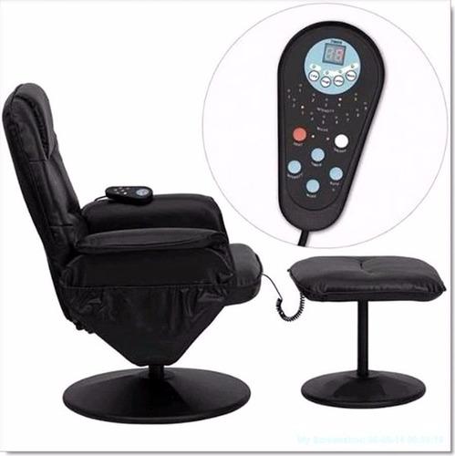 sillón vibrador masajeador 8 motores garantia 1año