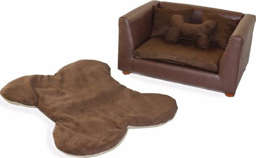 sillon y tapete para mascotas raza mediana