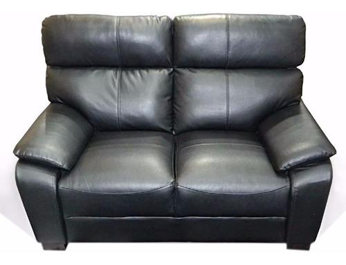 sillones 2 cuerpos sofá cuero sintético 1,64x0,96x0,84 m
