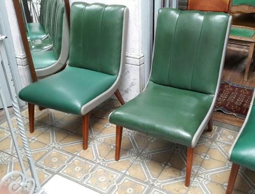 sillones americanos daneses gemelos impecables