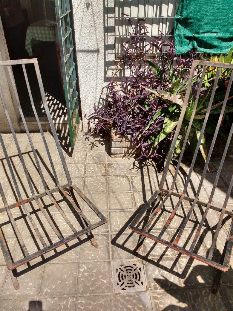 Sillones de hierro para jardin en mercado libre for Almohadones para sillones de jardin