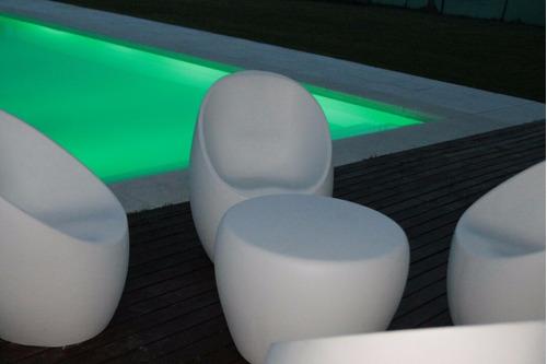 sillones de jardn reforzado color gris