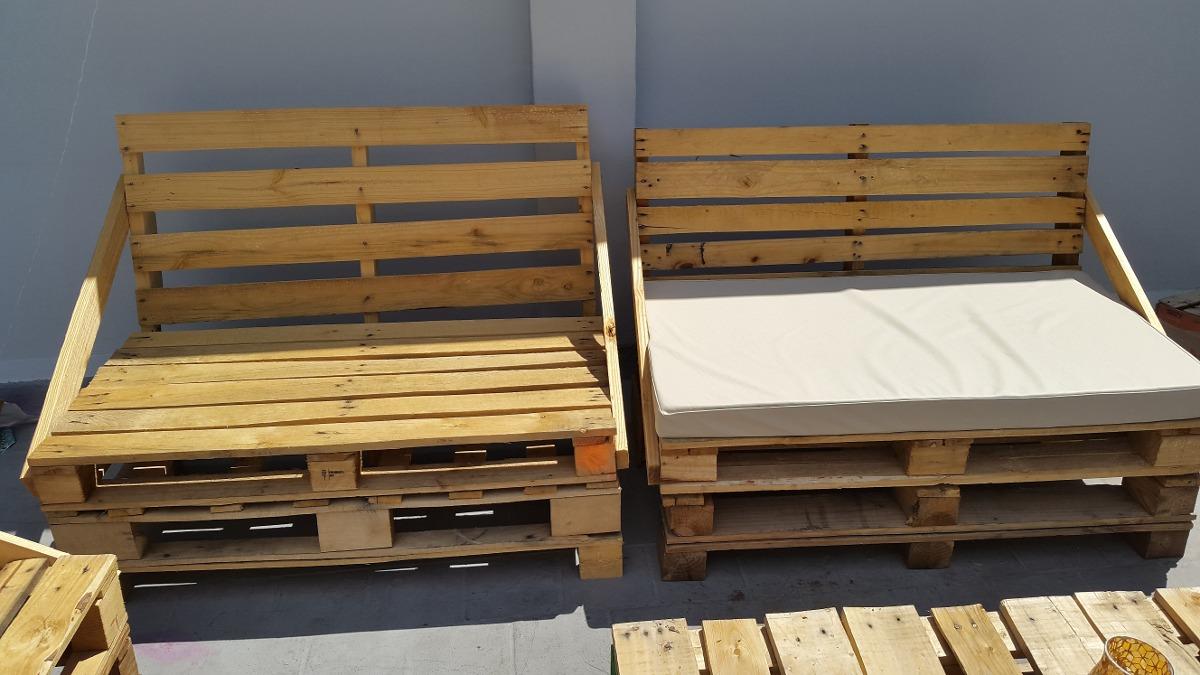 Sillones de palets 450 00 en mercado libre - Como hacer muebles con palets ...