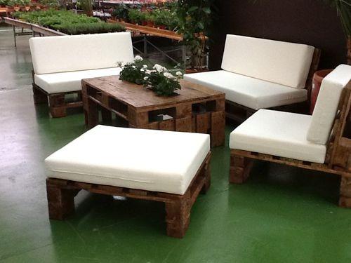 Sillones de pallets en mercado libre for Modelos de sillones