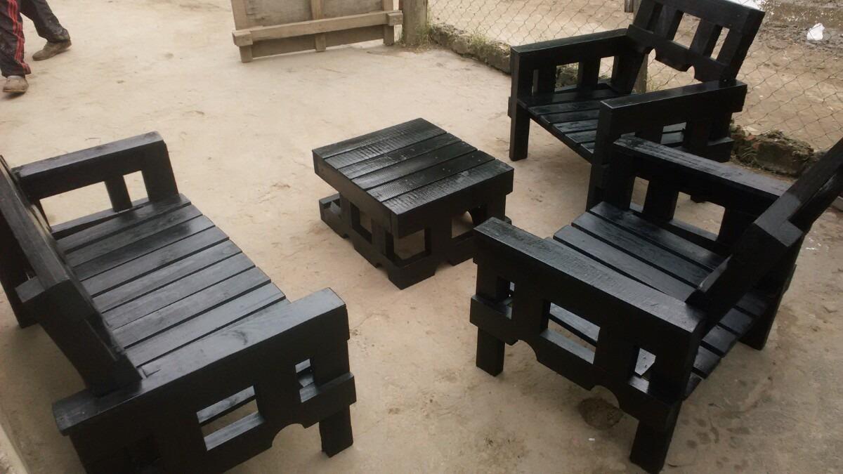 sillones exterior madera