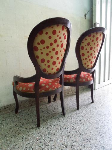 sillones franceses luis xv sala dormitorio poltronas living.