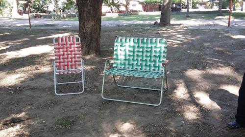 sillones playeros grandes reforzados modelo triple x