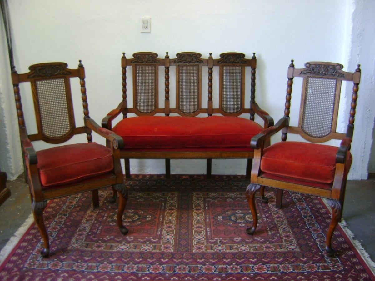 Sillones Estilo Ingles O Reina Ana - Muebles Antiguos en Mercado ...