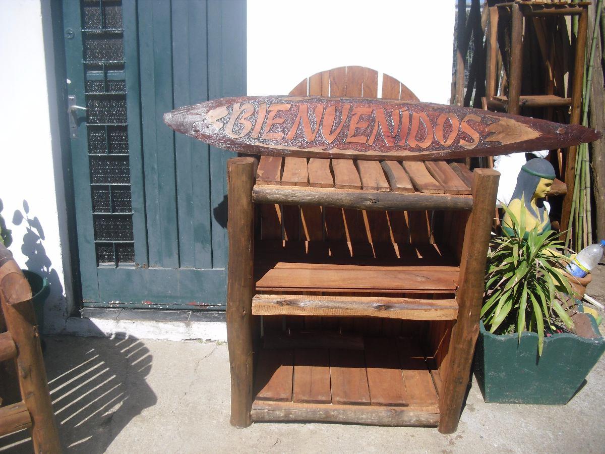 Sillones rustico y muebles de madera y troncos a medidas - Muebles de madera a medida ...