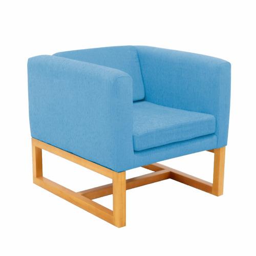 sillones tapizados chenille madera maciza forbidan muebles