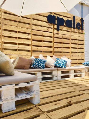 sillones terraza de pallets / apalet muebles