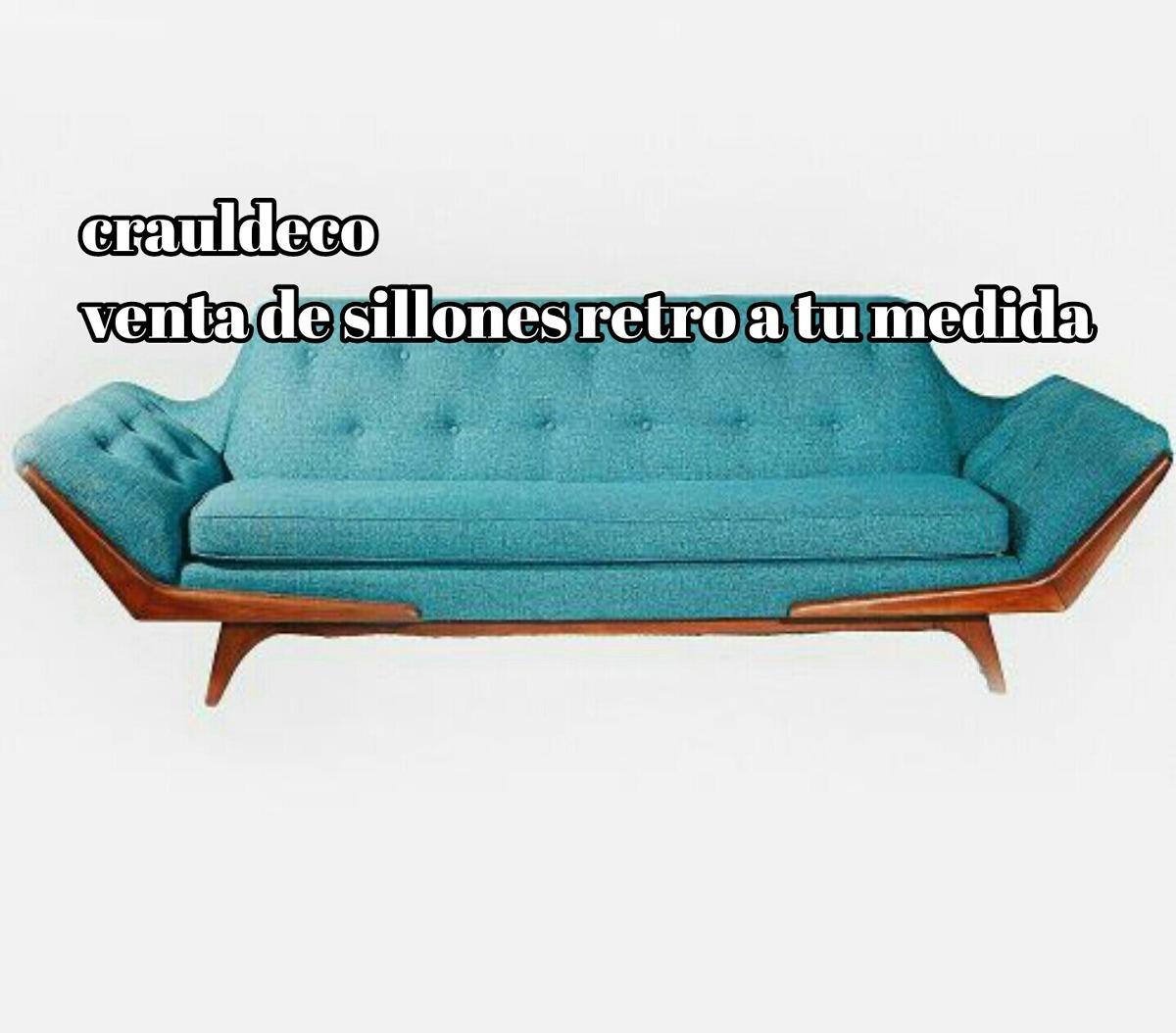 Sillones Vintage Retro Cn 5 Aos De Garantia 2280000 en