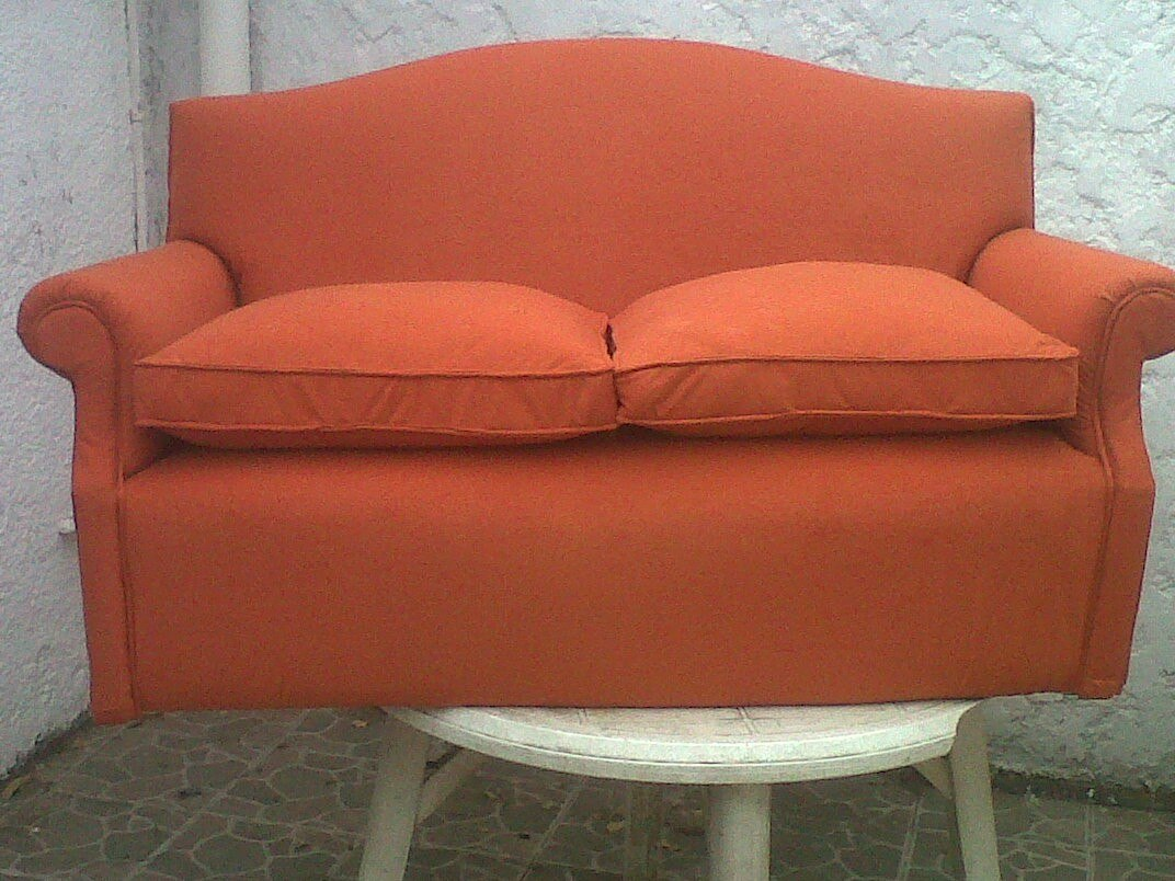 Sillones sillas living tapiceria antes y despues for Sillones living
