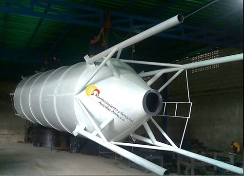 silo de 30 ton a 100 ton para cemento