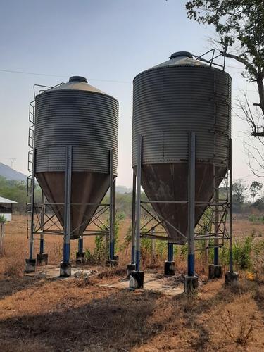 silos almacenamiento alimento 15 toneladas
