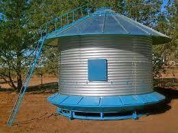 silos autoconsumo de 12,tn con alero