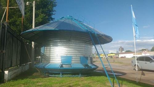 silos autoconsumo de 4 tn con alero