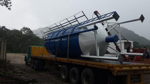 silos para almacenamiento de cemento y agricolas