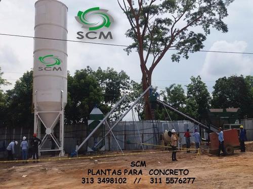 silos para almacenamiento de cementos