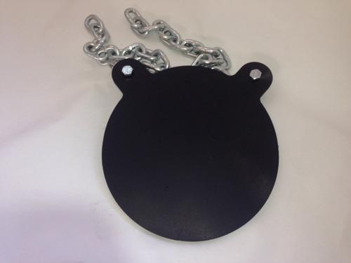 silueta metálica ar500 (solo placa)