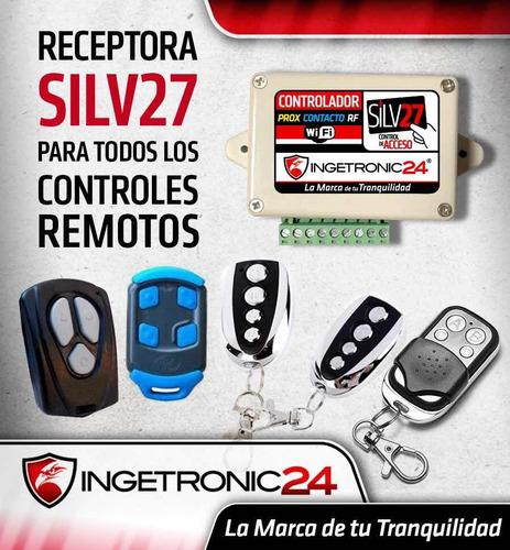 silv27 receptora de controles receptor inalambrico