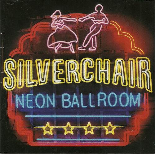 silver chair neonballroom