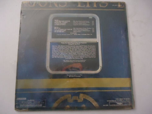 silver convention / love in a sleeper vinyl lp acetato