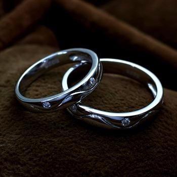 silver love rings