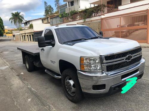 silverado 3500 hd camion plataforma
