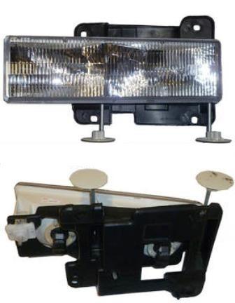 silverado sierra pickup 1992 - 1998 faro izquierdo nuevo!!!!