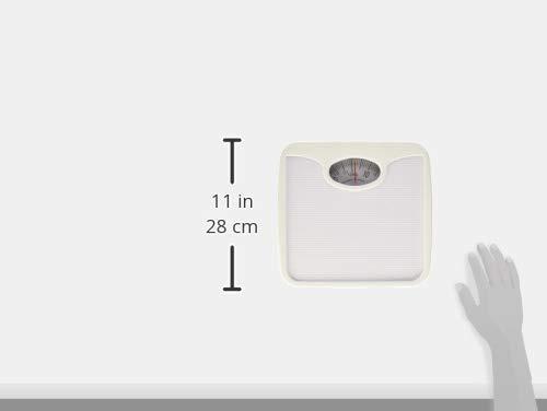 silverline dc-bbm-bla báscula mecánica de baño, anti-derapa