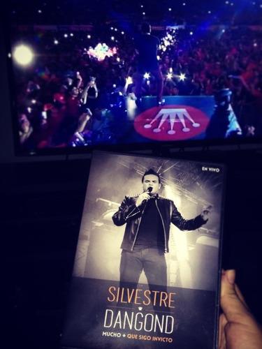 silvestre dangong mucho mas que invicto dvd+cd