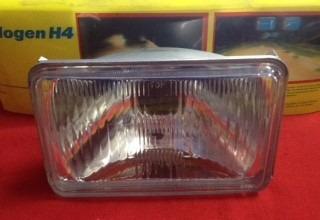 silvin rectangular pequeño 4652 halogeno foco cambiable