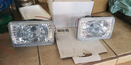 silvines para toyota o camion 4 x 6 con proyector y leds