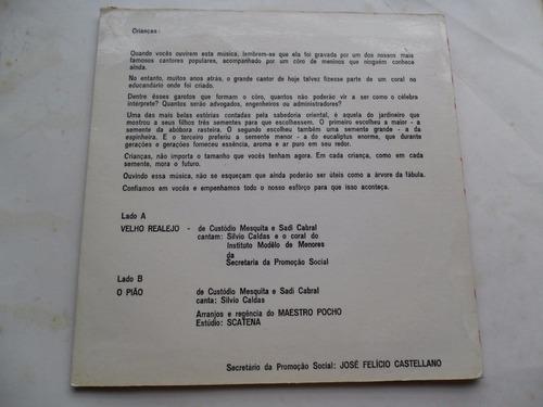 silvio caldas - governo abreu sodré compacto promocional 60s