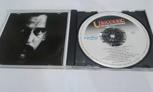 silvio rodríguez, unicornio cd original usado p71 qq8