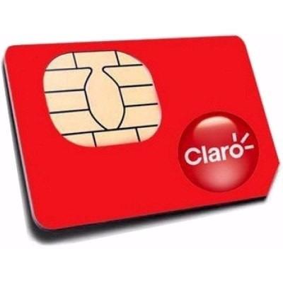 sim card claro 4g  caja de 100 unidades $ 15000