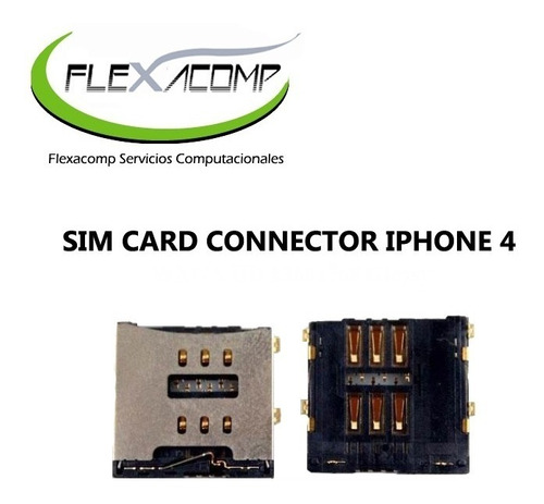 sim card connector iphone 4