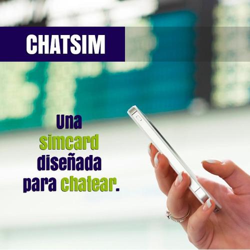 sim card internacional chatism cobertura en 150 países