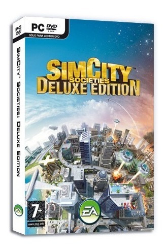 sim city societies deluxe juego pc original fisico dvd box