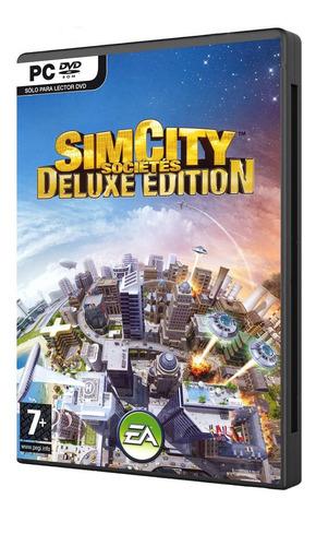 sim city societies deluxe juego pc original fisico dvd box