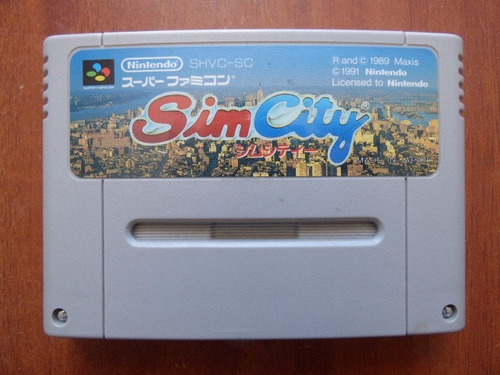 sim city super famicom zonagamz japon