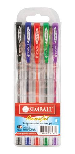 simball roller power gel classic x5