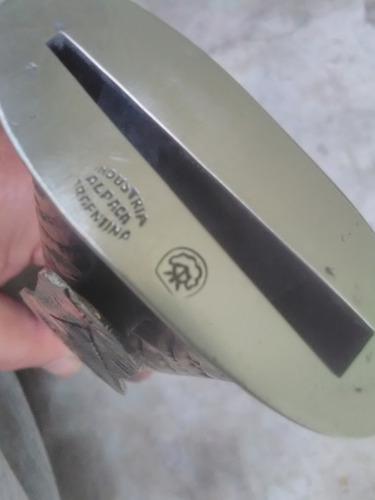 simbra inmenso facón antiguo hoja 26 carbon alpaca cuchillo