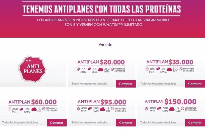 09324386dc7 Simcard Virgin Mobile Para Negocio X 100 Unidades - $ 65.000 en ...